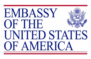 Offical Embassy Logo 2- june 2011-2 flaten trasparency